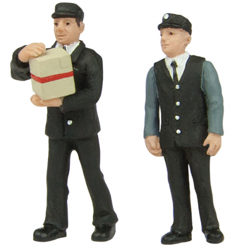 47-412 Scenecraft station staff 70's set B (pack of 2 figures)